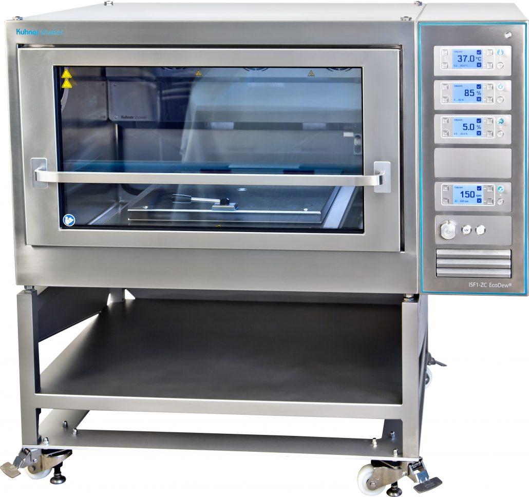 ISF1-ZC EcoDew Laborschüttler 100 % Edelstahl-Ausführung